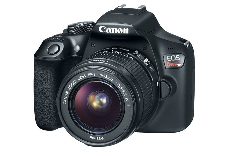canon-1300d-front Canon 1300D DSLR becomes official with new Food Mode News and Reviews