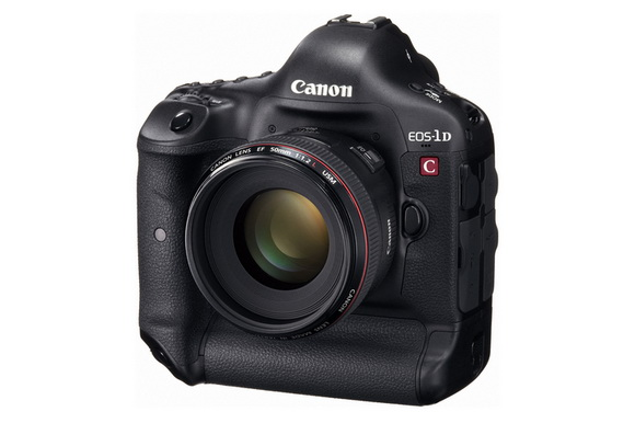Canon announced a service upgrade for the 1D C, that will bring 4K at 25fps video recording for the camera