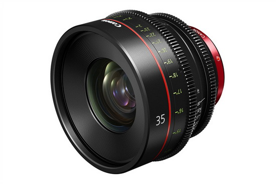 canon-35mm-cinema-prime-lens Canon and Zeiss reveal new cine lenses at NAB 2013 News and Reviews