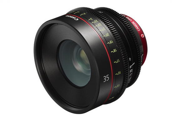 Canon 35mm T1.5 lens
