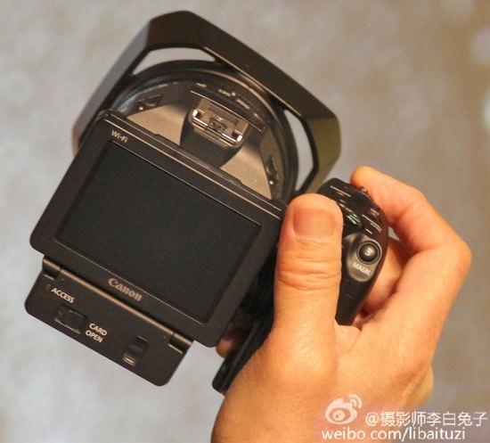 canon-4k-fixed-lens-camera-back Canon 4K fixed-lens camera photos and specs leaked Rumors
