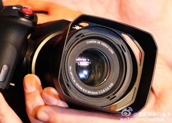 canon-4k-fixed-lens-camera-front Canon 4K fixed-lens camera photos and specs leaked Rumors
