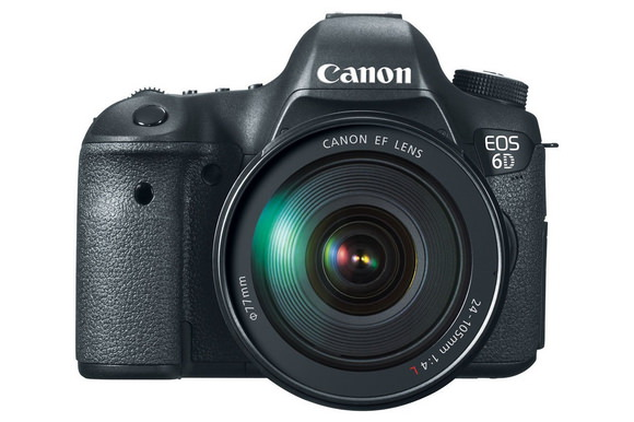 Canon 6D 24-105mm lens kit