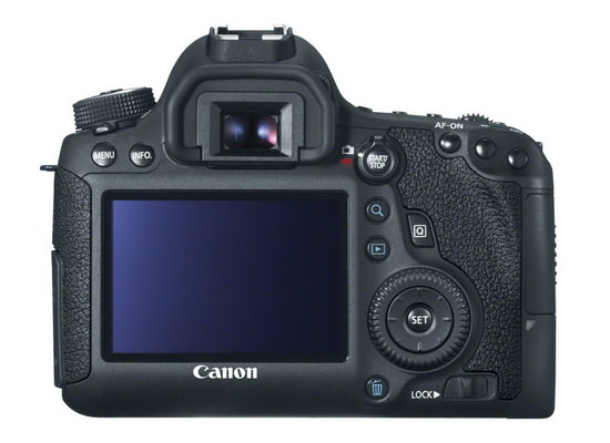 canon-6d-back Canon 6D Mark II rumored to feature Dual Pixel technology Rumors