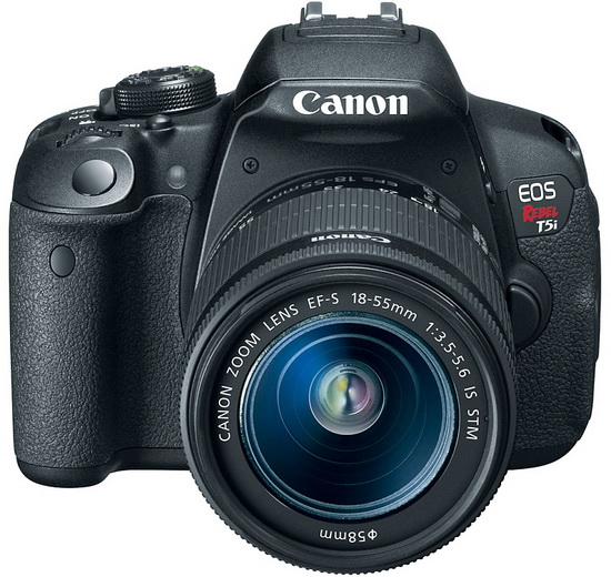 canon-700d-rebel-t5i-front Canon 700D / Rebel T5i touchscreen DSLR officially announced News and Reviews