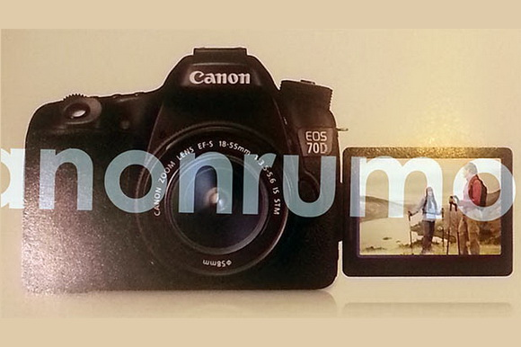 Canon 70D photo leaked