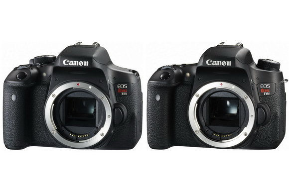 Canon 750D and 760D
