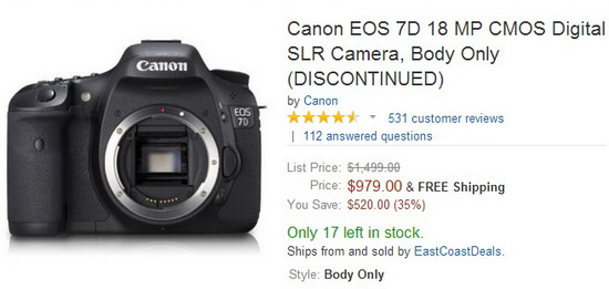 canon-7d-discontinued Canon 7D DSLR camera rumored to be discontinued this June Rumors