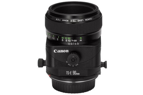 Canon 90mm f/2.8 tilt-shift lens