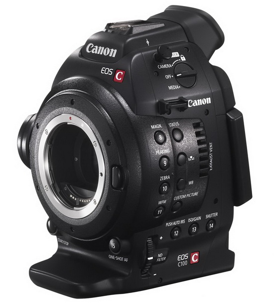 canon-c100 Canon C100 to get pricey Dual Pixel CMOS AF support next year News and Reviews