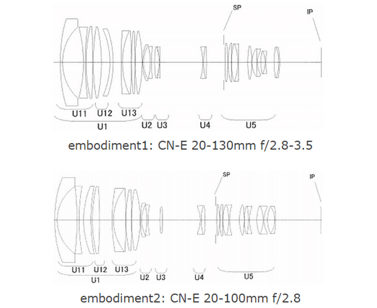 canon-cn-e-20-130mm-t2.8-35-20-100mm-t2.8 Three new Canon cine lenses rumored to be in development Rumors