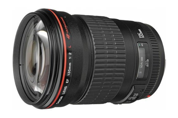 canon ef 135mm f2l usm telephoto prime lens