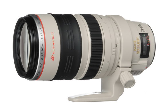 Canon EF 28-300mm f/3.5-5.6L IS USM superzoom lens