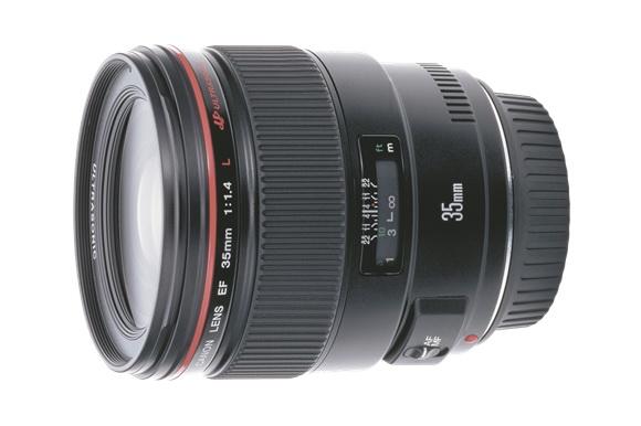 Canon EF 35mm f/1.4L II lens rumor