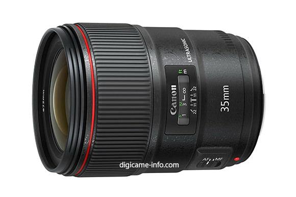 Canon EF 35mm f/1.4L II USM leaked