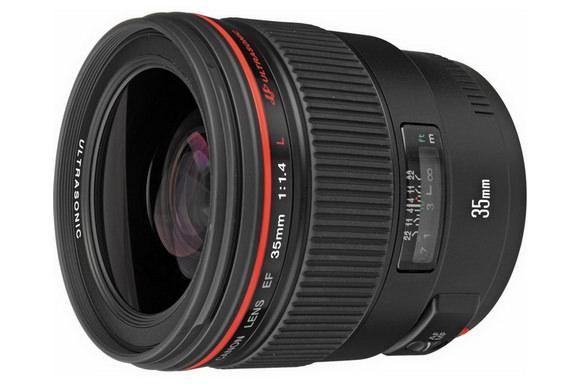 Canon EF 35mm f/1.4L USM prime