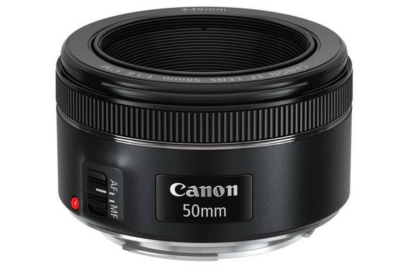Canon EF 50mm f/1.8 STM prime