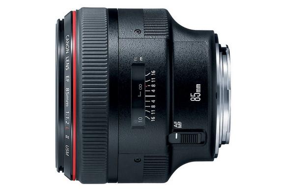 Canon EF 85mm f/1.2L II USM telephoto prime