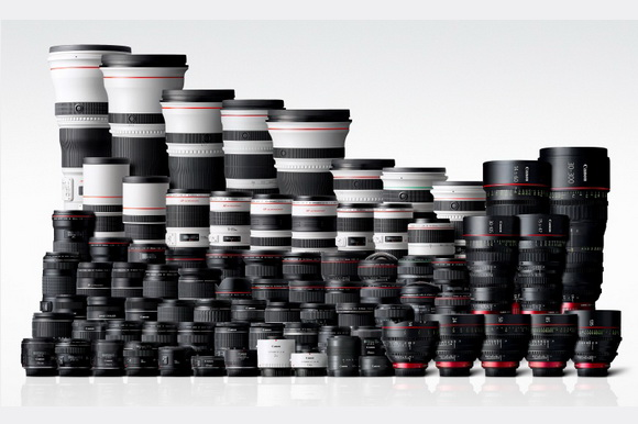 Canon EF lens 90 million