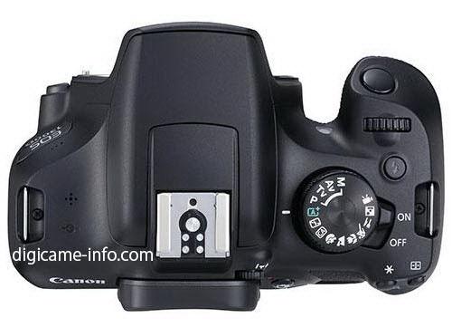 canon-eos-1300d-top-leaked First Canon 1300D photos revealed News and Reviews