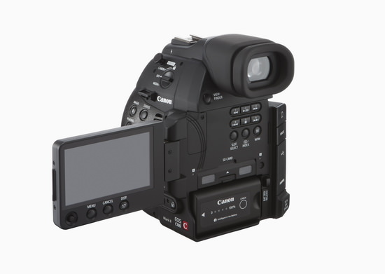 canon-eos-c100-mark-ii-back Canon EOS C100 Mark II announced with WiFi and Dual Pixel AF News and Reviews