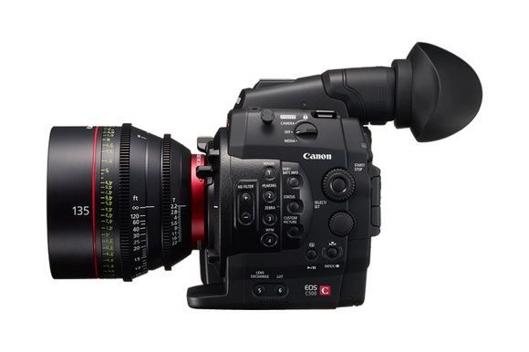 Canon EOS C500 replacement rumors