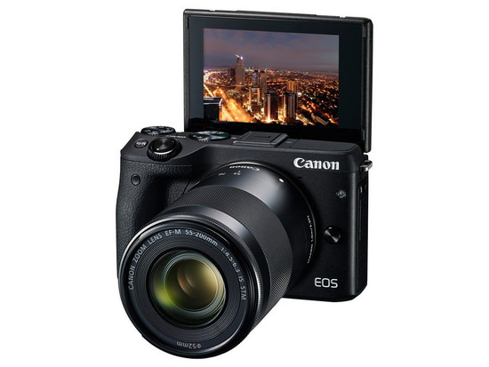 canon-eos-m3-selfie-display Canon EOS M3 mirrorless camera becomes official News and Reviews