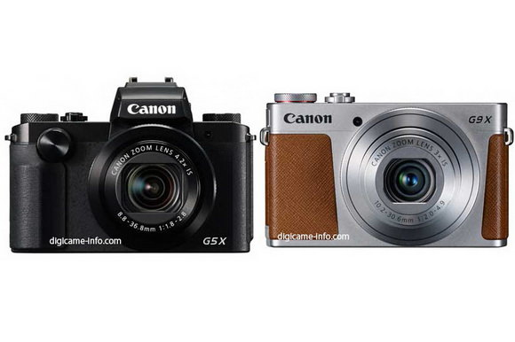 Canon G5 X and G9 X leaked
