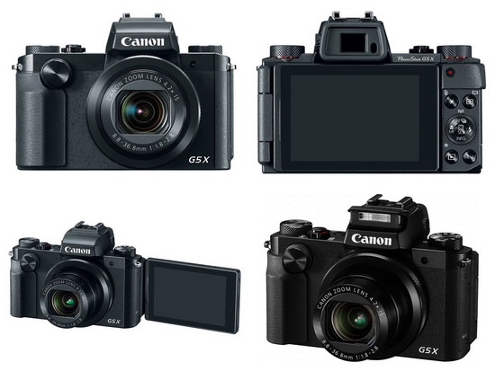 canon-g5-x Canon EOS M10 with new EF-M lens, G5 X, and G9 X unveiled News and Reviews
