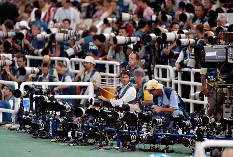 canon-gear-olympics Canon vs Nikon war still waging at major sports events Exposure