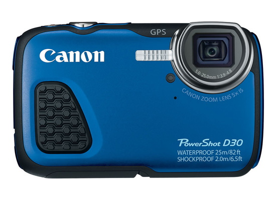 canon-powershot-d30-front Canon PowerShot D30 launched with 82-feet waterproof rating News and Reviews