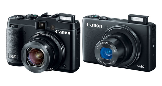 canon-powershot-g16-and-s120 Canon G17 and S130 cameras to become official this October Rumors