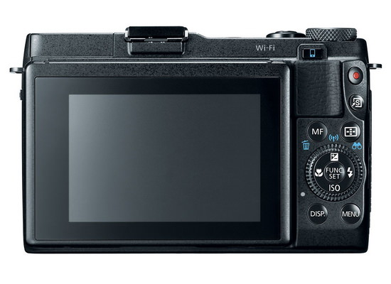 canon-powershot-g1x-mark-ii-rear Canon PowerShot G1X Mark II camera unveiled with large sensor News and Reviews