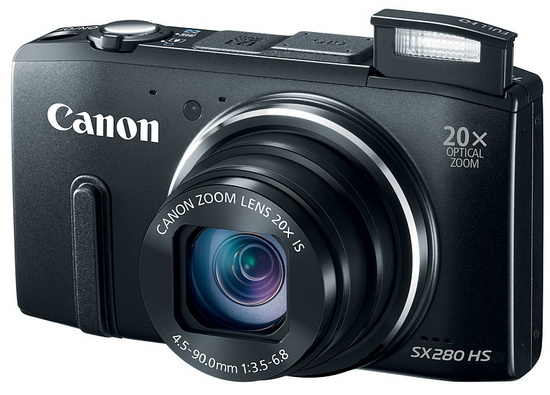 canon-powershot-sx280-hs-front Canon PowerShot SX280 HS unveiled with DIGIC 6 image processor News and Reviews