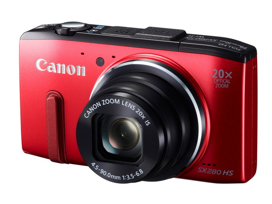 canon-powershot-sx280-hs-red Canon PowerShot SX280 HS unveiled with DIGIC 6 image processor News and Reviews