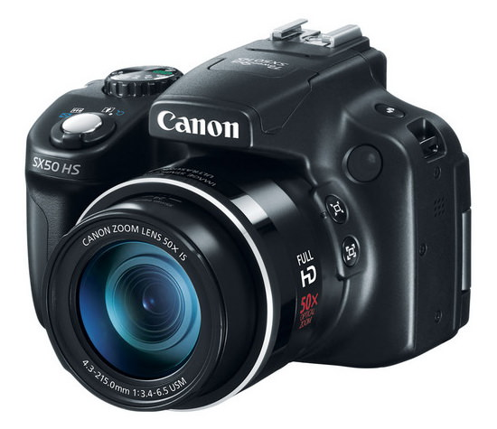 canon-powershot-sx50-hs Canon PowerShot SX50 HS successor could feature 100x zoom lens Rumors