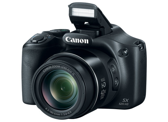 canon-powershot-sx520-hs Canon PowerShot SX520 HS announced with 42x optical zoom lens News and Reviews