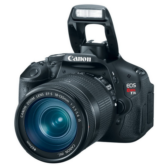 canon-rebel-t3i Top 5 best-selling DSLR cameras on Amazon News and Reviews