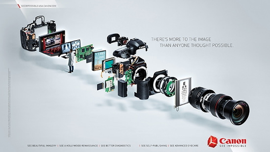 canon-see-impossible New Canon marketing campaign shifts focus to consumers News and Reviews