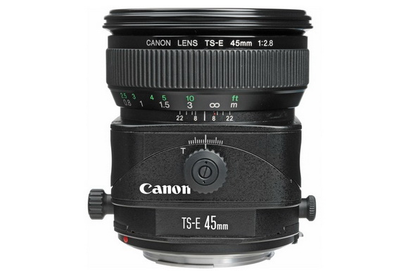 Canon 45mm tilt-shift lenses rumor 2014