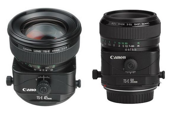 Canon tilt-shift lenses rumor