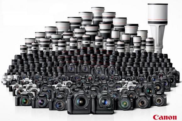 Canon top digital camera seller since 2003