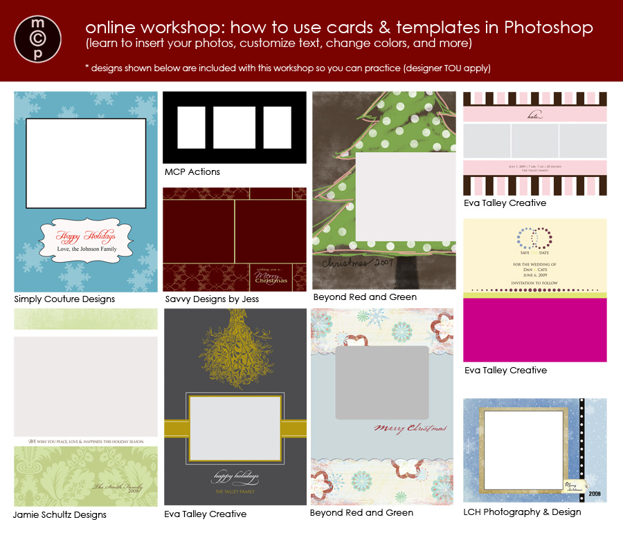 card-workshop1 ONLINE GROUP WORKSHOP - Using Cards & Templates (just in time for the holidays) Announcements Workshops