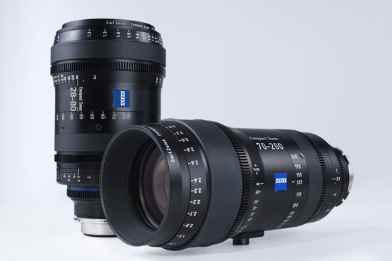 carl-zeiss-28-80mm-70-200mm-lenses Canon and Zeiss reveal new cine lenses at NAB 2013 News and Reviews