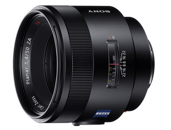 carl-zeiss-planar-t-50mm-f1.4-za-ssm Zeiss 50mm, Sony 70-400mm and 18-55mm lenses revealed News and Reviews