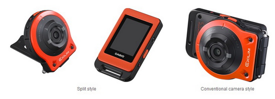 casio-ex-fr10-styles Casio EX-FR10 is a new action camera with a modular design News and Reviews