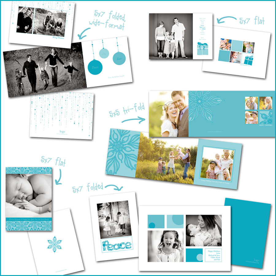 christmas-card-templates Win Holiday Card Templates from Photographer Cafe Contests