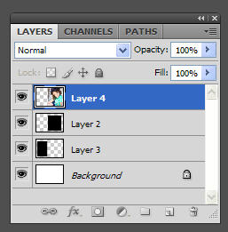 """clipping-mask-tut2 How to use a """"Clipping Mask"""" to insert photos into a template Photoshop Tips & Tutorials"""