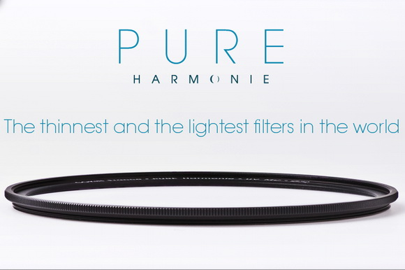 Cokin's Pure Harmonie announced as the thinnest and lightest filters in the world