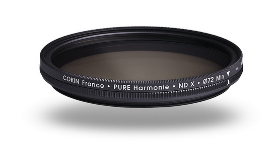 cokin-pure-harmonie-variable-density-neutral-gray-filter Cokin Pure Harmonie filters introduced as world's thinnest News and Reviews